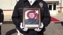 Şehit Polis Hıdır Gençaslan İçin Jandarma Komutanlığında Tören Düzenlendi