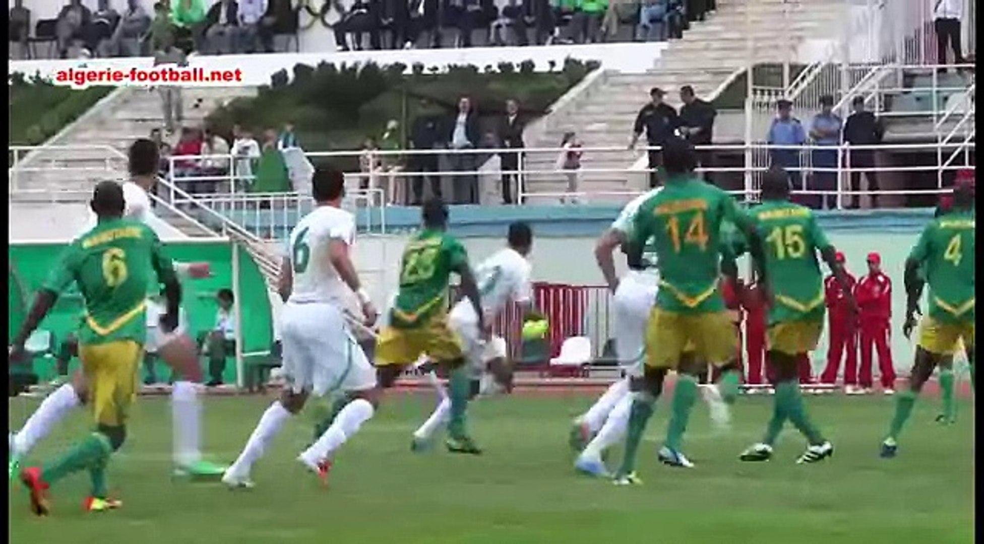 Match amical : Algérie ( A') 1 - Mauritanie 0 ( une équipe d'algérie en construction)