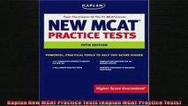 READ book  Kaplan New MCAT Practice Tests Kaplan MCAT Practice Tests  FREE BOOOK ONLINE