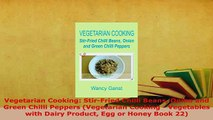 Download  Vegetarian Cooking StirFried Chilli Beans Onion and Green Chilli Peppers Vegetarian Download Online