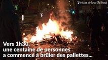 """""""Nuit debout"""" à nouveau évacuée de la place de la République à cause de casseurs"""