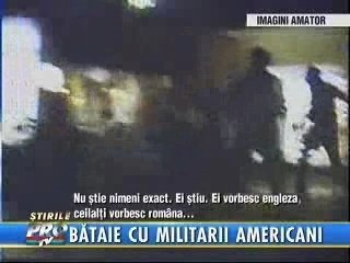 Infanteristii marini mananca bataie
