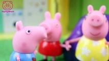 Pig George da Familia Peppa Pig com Medo do Genio da Lâmpada Novelinha ToyToysBrasil em