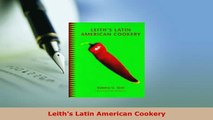 Download  Leiths Latin American Cookery PDF Book Free