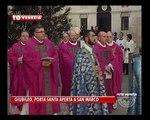 VENEZIA TG - 14/12/2015 - GIUBILEO, PORTA SANTA APERTA A SAN MARCO