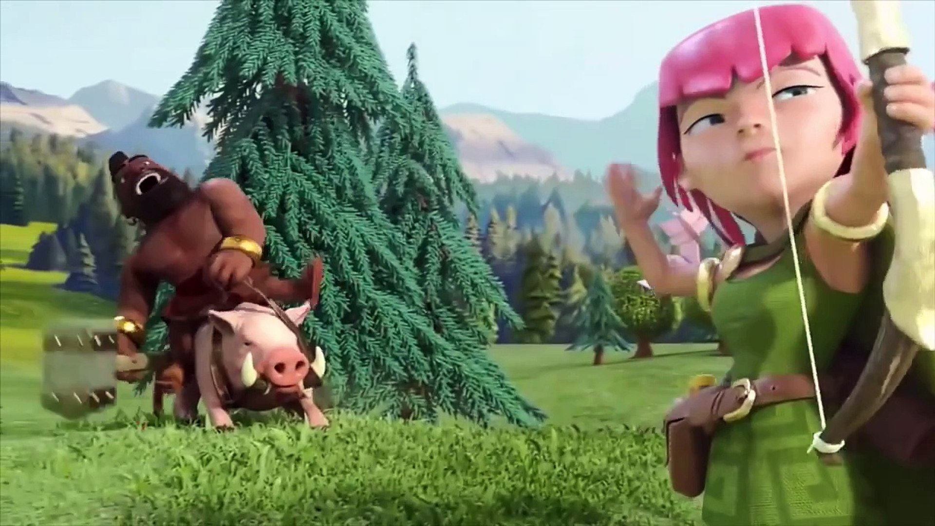 Clash of Clans Movie - Full Animated Clash of Clans Movie Animation! (CoC Movie!)