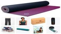 Yoga Essentials Beginners Yoga Kit Yoga Mat Yoga Brick Yoga Strap Yoga DVD