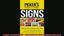 FREE DOWNLOAD  Pickers Pocket Guide  Signs How to Pick Antiques Like a Pro  DOWNLOAD ONLINE