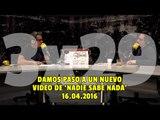 """NADIE SABE NADA - (3x29): Damos paso a un nuevo video de """"Nadie Sabe Nada"""""""