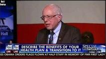 Bernie Sanders On His Health Care Plan Fox News Democratic Presidential town Hall
