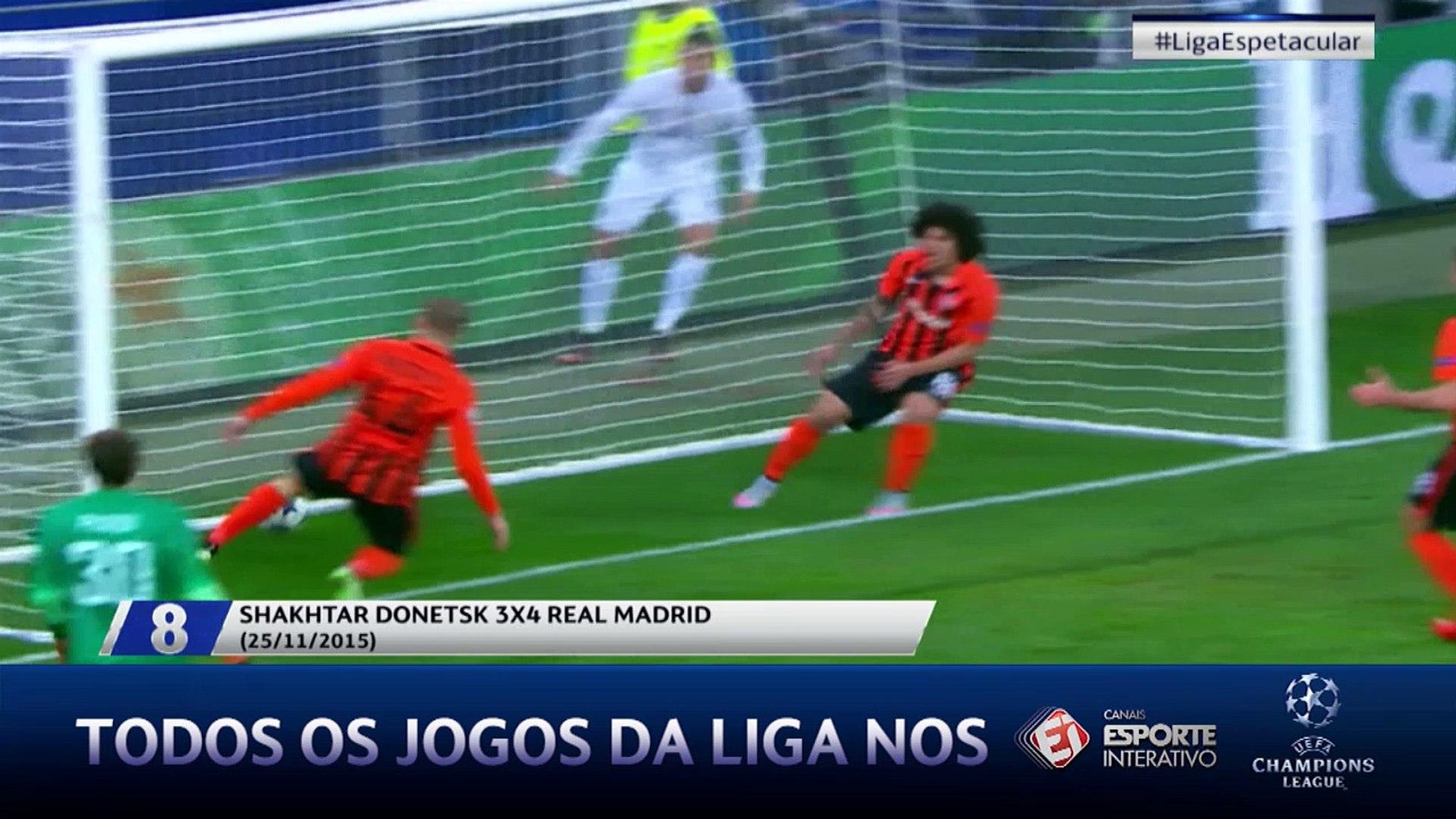 Liga 10+ apresenta os golaços de CR7 na Liga dos Campeões