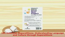 PDF  101 American Superstitions Understanding Language and Culture through Superstitions Read Full Ebook