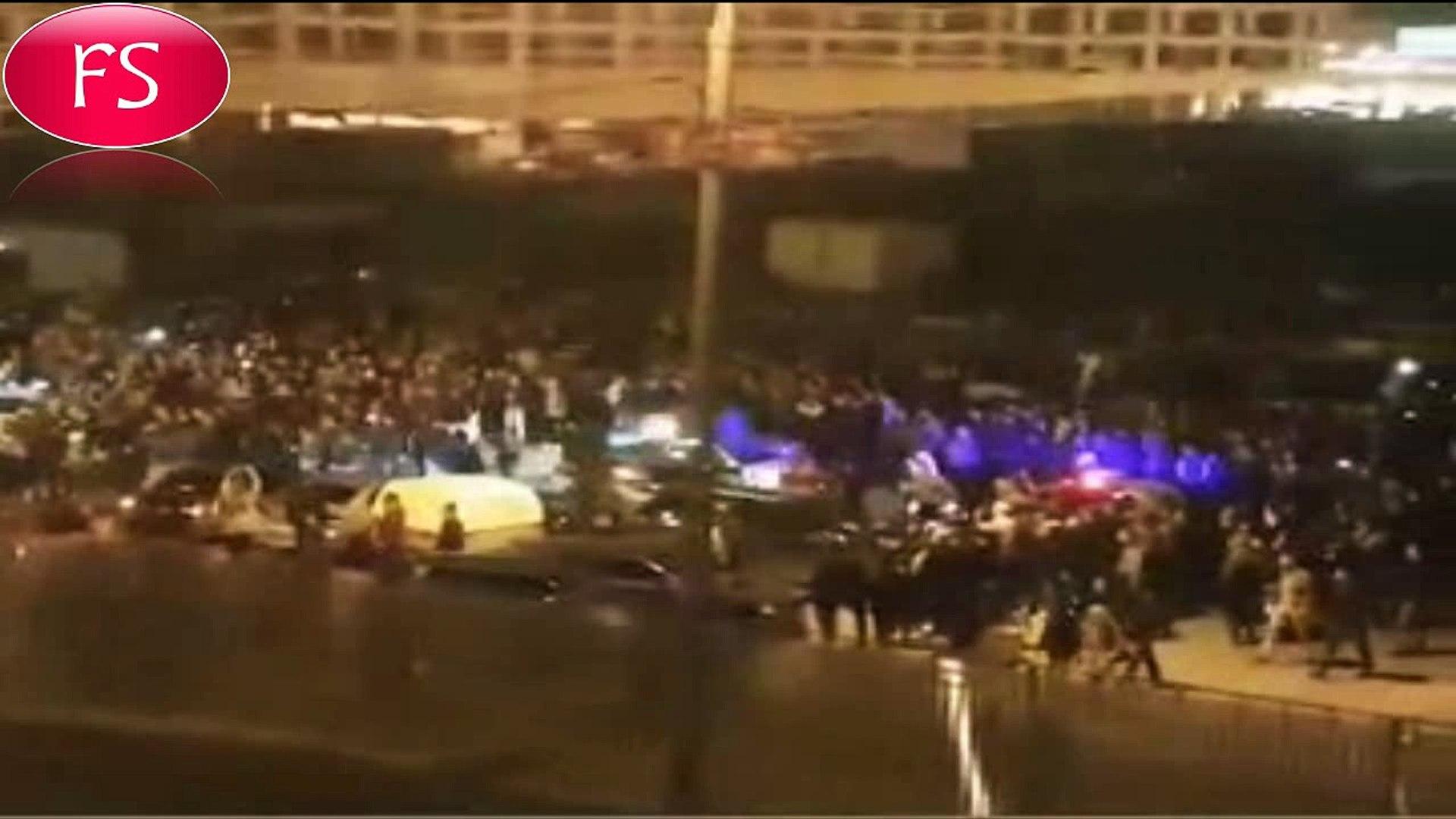 Полицейские не стали топить стритрейсеров  на Ходынском