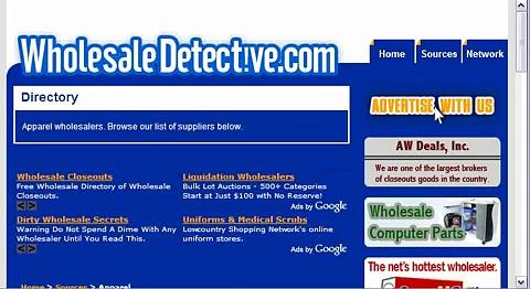 Wholesale Apparel – Apparel Wholesalers Directory