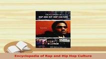 PDF  Encyclopedia of Rap and Hip Hop Culture Download Full Ebook