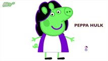 Peppa Pig English Episodes New I George Mickey I Pig Pedro Hulk Disney Minnie I Peppa Pig Disguise