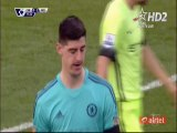 Thibaut Courtois Red Card HD - Chelsea 0-2 Manchester City - 16.04.2016 HD