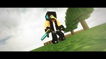 INTRO MINECRAFT TEMPLATE EPIC ANIMATION #1 - (C4D & AFTER EFFECTS)