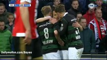 Michael de Leeuw Goal HD - Feyenoord 0-1 Groningen  - 16-04-2016