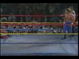 Chris Benoit breaks Sabus Neck