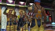 FINAL FANTASY X/X-2 HD Remaster- winning the first blitzball game Besaid auroch vs luca goers