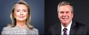 Hillary Clinton and Jeb Bush most extreme warmongers