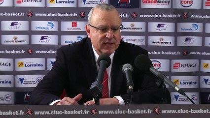 SLUC Nancy / SIG Basket : Les déclas !