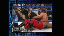 Chris Benoit vs Eddie Guerrero and Chyna (SmackDown 13.7.2000)