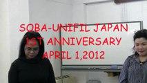 SOBA-UNIFIL JAPAN 1ST ANNIVERSARY(1/6)