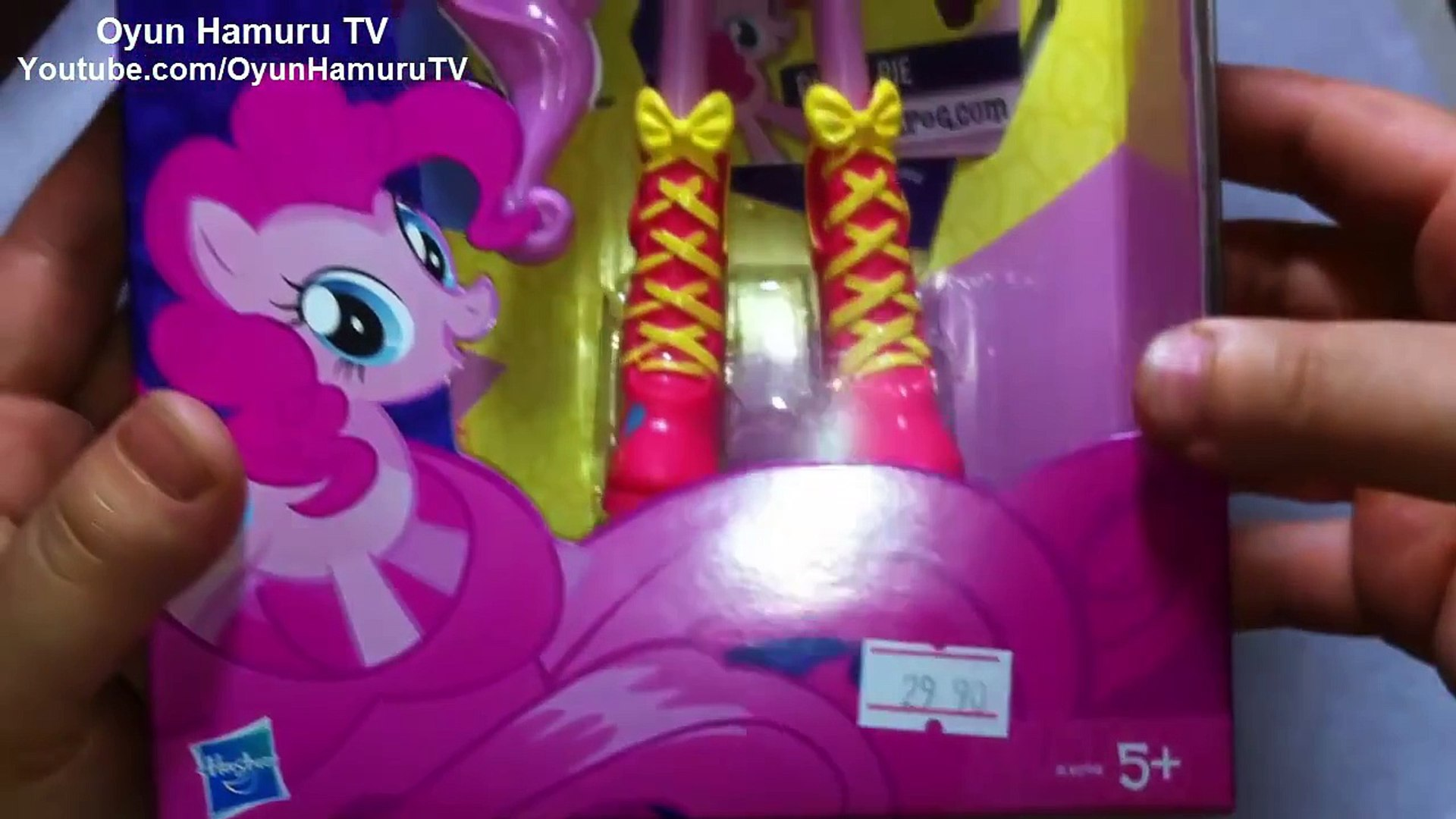 My Little Pony Equestria Girls Pinkie Pie Oyuncak Bebek Tanitimi Doll Unboxing