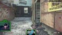 FN vs vXd - Domination on Freight - MLG Team Scrim! Ghosts Gameplay!