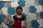 Awareness on girls education by ADITI AGRAWAL ( motivational speech on girls education )