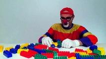 Çocuklar için eğlenceli film - Palyaço Dima - Lego taşları - Uçak