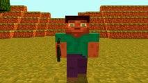 New Intro 10 Cinema 4D Minecraft Animação