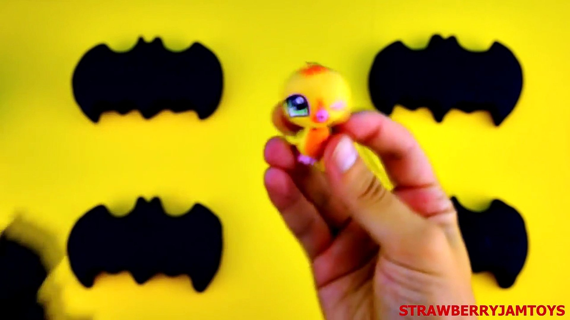 Play Doh Spiderman - Batman Play Doh LPS Toy Story Littlest Pet Shop Toy Story 3 - Surprise Eggs