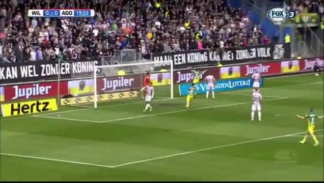 Mike Havenaar Goal HD - Willem II 0-1 ADO Den Haag 17.04.2016 HD