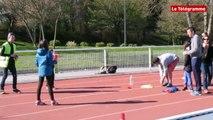 Relecq-Kerhuon (29). Les Olympiades  au stade stade Gérard-Garnier