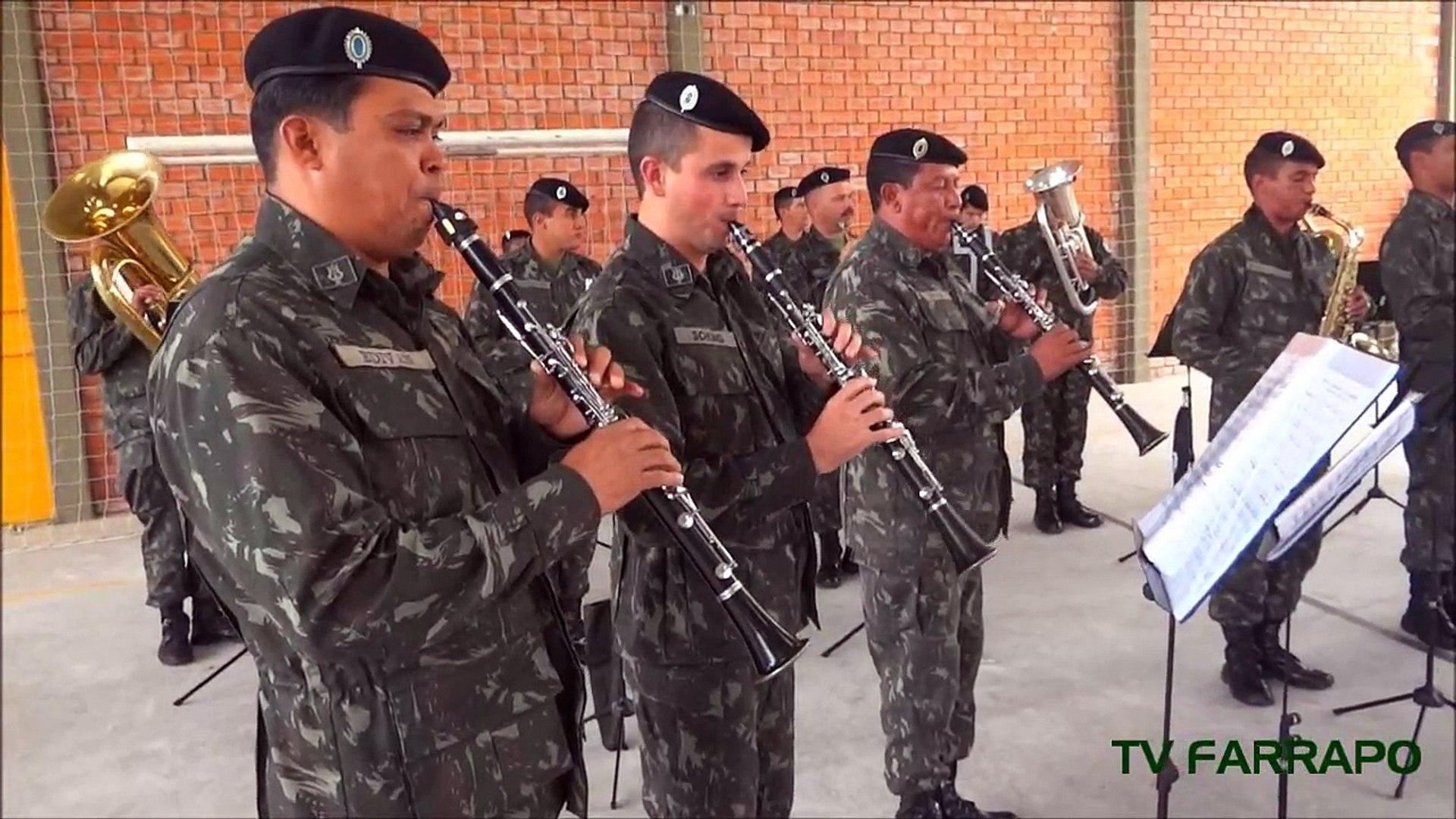 Apresentação da Banda da 3ª Cavalaria Mecanizada de Bagé