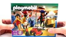 Pirates Playmobil / Le capitaine pirate avec un arsenal darmes 5136 Unboxing