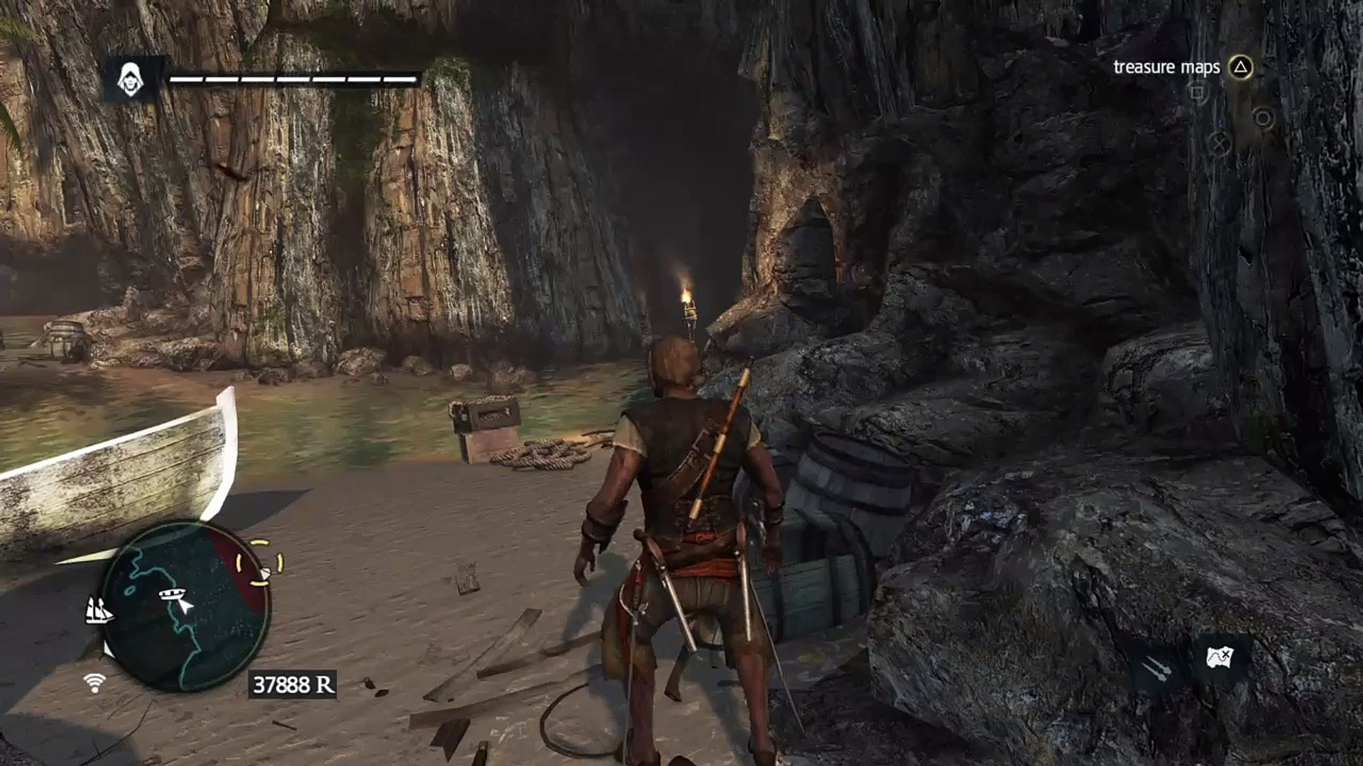 Assassin S Creed 4 Black Flag Treasure Map 565 539 Video Dailymotion