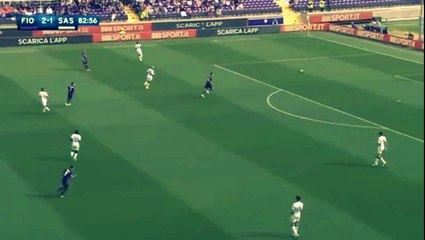 Own Goal Andrea Consigli - Fiorentina 3-1 Sassuolo (17.04.2016) Serie A