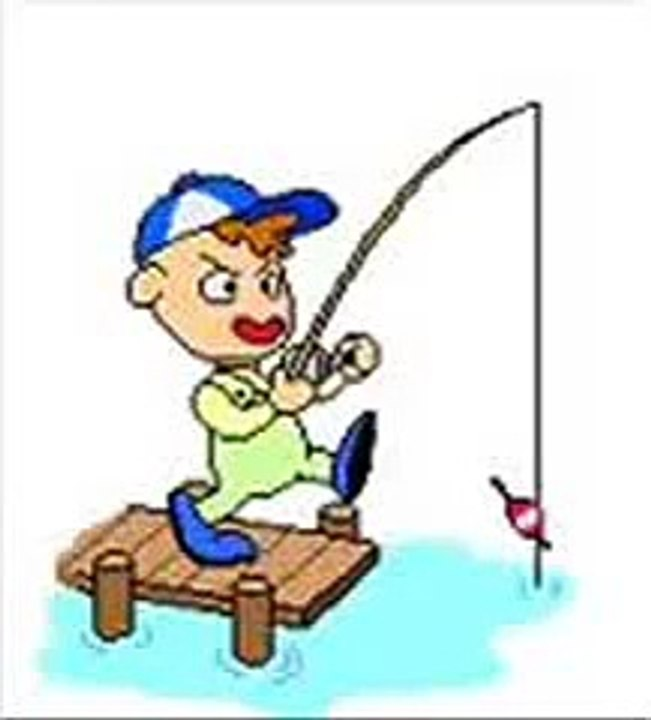 как туда рыбалка анимационные картинки самообразованием бушков занимался