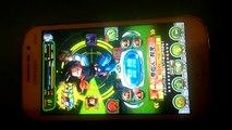 Je joue à  Dragon ball z dokkan battle la version japonaise et la version française