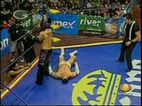 AAA-SinLimite 2009-05-21 Aguascalientes 05 AAA Cruiserweight Title Final - Alex Koslov vs. Alan Stone vs. Extreme Tiger
