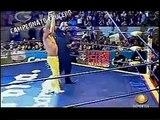 AAA-SinLimite 2009-05-25 Tlaxcala 02 Alan Stone, Crazy Boy & Extreme Tiger vs. Poder del Norte
