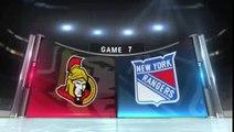New York Rangers Ottawa Senators Game 7 Highlights 4/26/12