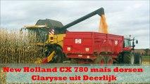 New Holland CX 780 mais dorsen 2012 - Clarysse uit Deerlijk