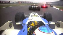 F1 Classic Onboard: 2006 Chinese Grand Prix, Buttons Last-Lap Charge