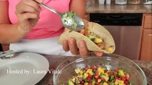 Quick Chicken Rice & Lime Soup Recipe Laura Vitale Laura in the Kitchen Episode 973