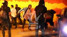 Footage of Migos' Offset And Crew Jumping A Guy In Texas! (WSHH Exclusive)